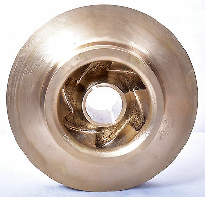 "Flowserve 11"" Brass Pump Impeller"
