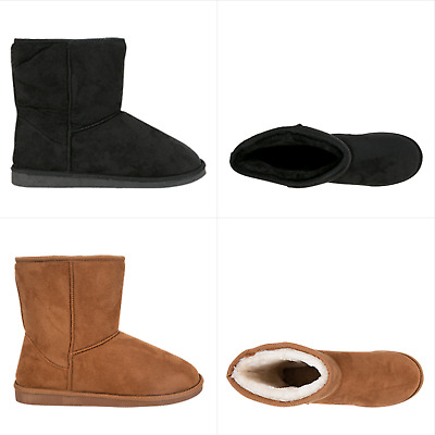NEW Spendless Mens Freeze Olympus Soft Slipper Comfort Pull On Fluffy Boots