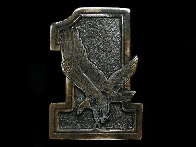 Nf27122 Vintage 1975 **#1 American Bald Eagle** Sports Great American Buckle