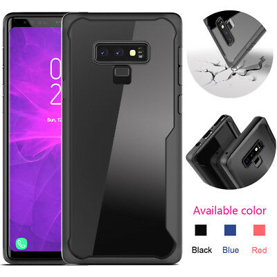 Hybrid Clear Soft TPU Case Heavy Duty Shockproof Cover For Samsung Galaxy Note 9