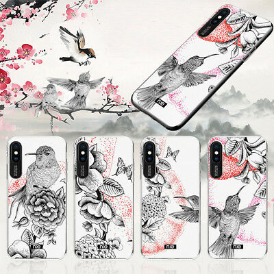 Slim Shockproof Hard Case Emboss Pattern TPU Phone Cover For iPhone X Xr Xs Max