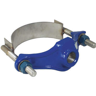 SMITH-BLAIR Repair Clamp,Iron,4 In Pipe,1 1/2 In Out, 31500048013000