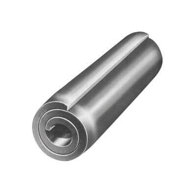 FABORY Spring Pin,HD Coiled,1/4x1in,7800lb,PK25, U39150.025.0100