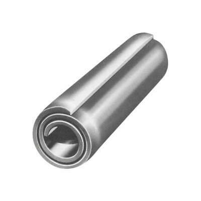 FABORY Spring Pin,Coiled,1/8inx1in,1400lb,PK100, U39140.012.0100