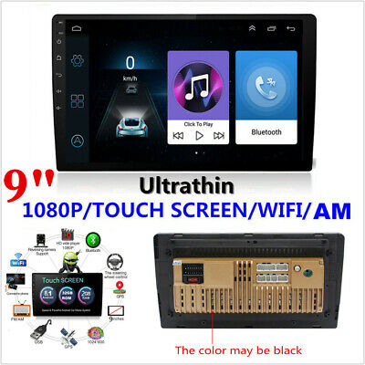 "Android 8.1 9""inch 2DIN  Quad-core ROM 32GB Car Stereo Radio GPS Wifi 3G/ 4G BT"