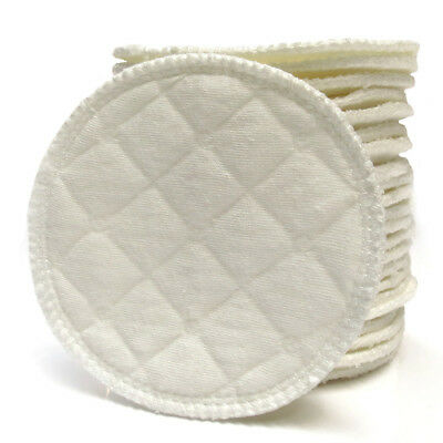 20x Bamboo Reusable Breast Pad Nursing Washable Organic Plain Washable Pad IN9Z