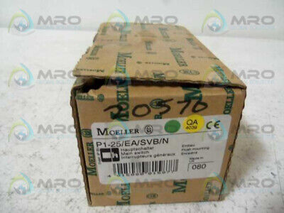 Klockner Moeller P1-25/Ea/Svb/N Main Switch * New In Box *