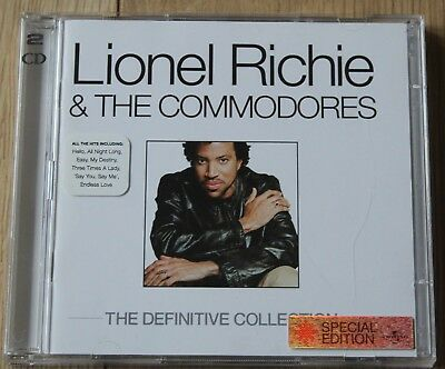 Lionel Richie & The Commodores - The Definitive Collection (2003)-Fine 2 CD Set