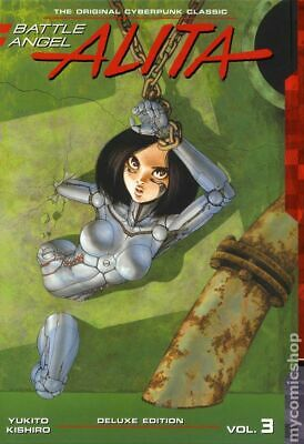 Battle Angel Alita HC (Kodansha) Deluxe Edition #3-1ST 2018 NM Stock Image