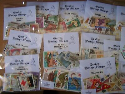 Dealers  Super  Packet Stock, 50 Packets Of Stamps.excellent.