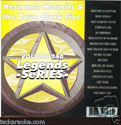 Hermans Hermits DAVE CLARK FIVE Karaoke CDG 17 Sgs HENRY THE 8TH Glad All Over