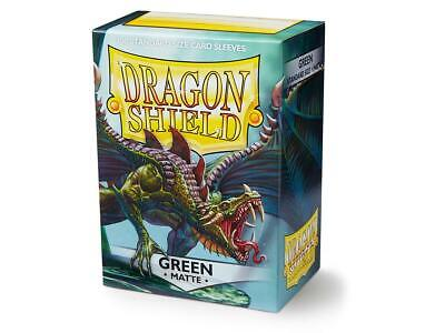 Dragon Shield - Matte Green (100 pz.)