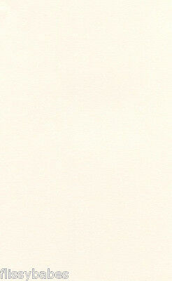 10 Sheets A4 Light Ivory Virtual Pearl Pearlescent Card 240gsm NEW