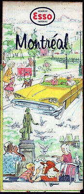 Esso Road Map Eastern Us Canada Map Northeast Southeast