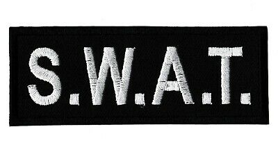 Patch écusson patche SWAT intervention thermocollant brodé tactical