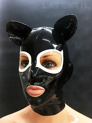 "--LATEXTIL-- Latex Maske ""CatMask_1"" Maske Masque Mask Latex -NEU-"