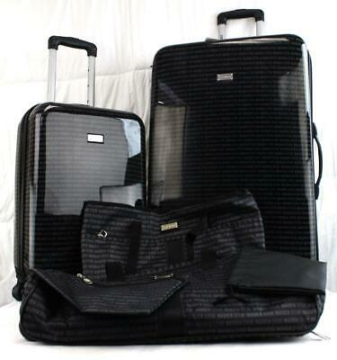 07f400cf88eb STEVE MADDEN SIGNATURE Collection 6 Pc. Hardside Spinner Luggage Set ...