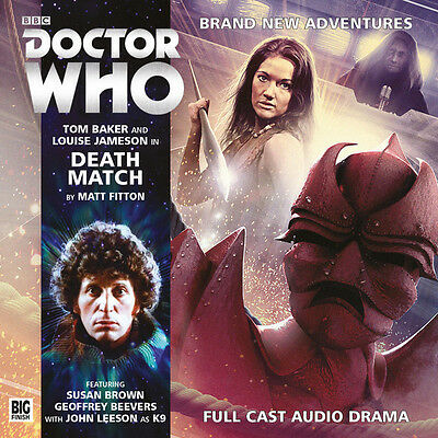 DOCTOR WHO Big Finish Audio CD Tom Baker 4th Doctor #4.2 THE DARKNESS OF GLASS