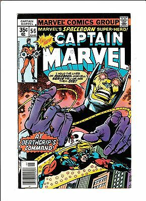 Captain Marvel No.56  : 1978 :   : Mark Jeweler Variant! :