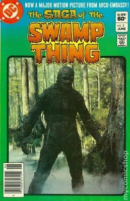Swamp Thing (2nd Series) #2 1982 FN Stock Image