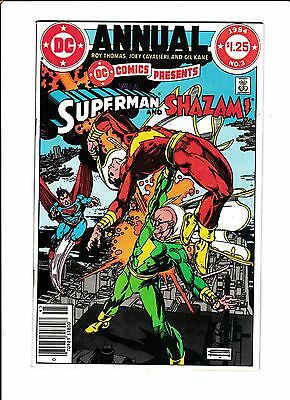 Dc Comics Presents  #3  [1984 Vg-Fn]  Superman & Shazam!