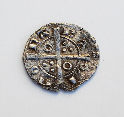 Rare - Silver Coin Peter III Ancient Medieval Templar Crusader - 12th century