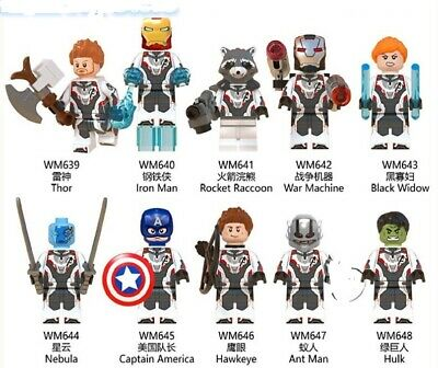 Minifigures compatibili PREORDINE - Avengers 4 End game - ironman thor..