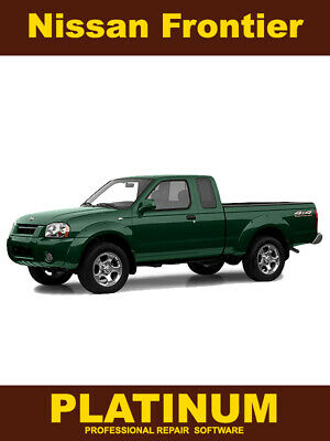 2002 nissan frontier service manual