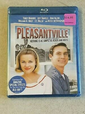 SEALED Pleasantville (Blu-ray Disc, 2011) TOBEY MAGUIRE REESE WITHERSPOON
