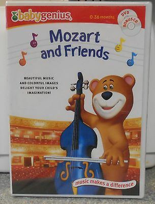 DVD LOT OF Baby Genius Mozart & Friends and The Four Seasons **Brand
