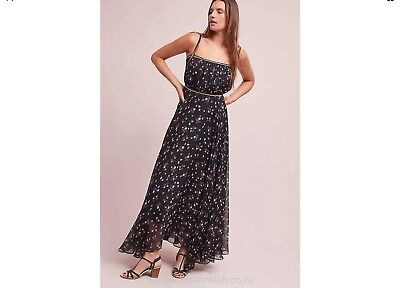 b8e0433ca790 NWOT Anthropologie Pomona Floral Maxi Dress By Ranna Gill Size 2