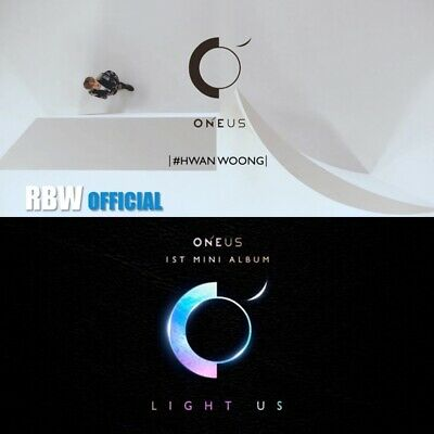 OneUs: LIGHT US* 1st Mini Album* Poster Full Package (CD, Big Hit) K-POP