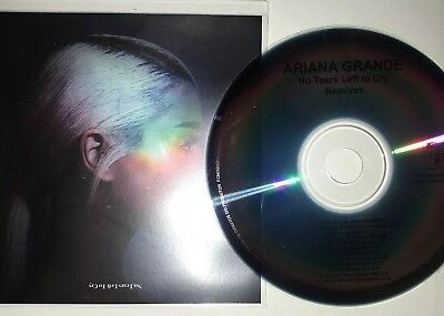 """Ariana Grande """"No More Tears Left To Cry"""" 12 Remix New Cd Promo"""