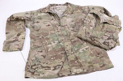 TWO (2X) ISSUED FRACU Army Combat Uniform Blouse LARGE-LONG OCP Multicam