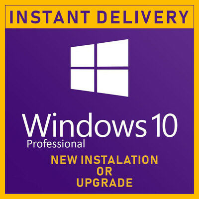 Windows 10 Pro Retail Product Key + Upgrade Windows 10 Home / S to Windows Pro