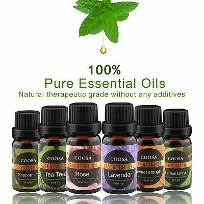 Essential Oils Gift Set 100% Pure Natural Therapeutic Grade Aromatherapy Kit NEW