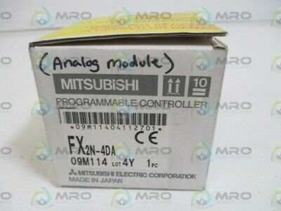 Mitsubishi Fx2N-4Da Input Module Analog * New In Box *