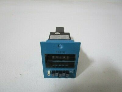 Festo Counter And Timer Pzt-99999Min-B * Used *