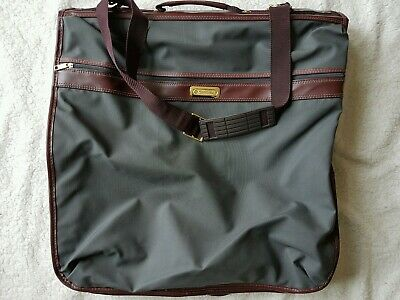 Vintage Samsonite Luggage Garment/Suit Bag Gray in Great Pre-Owned Shape!!