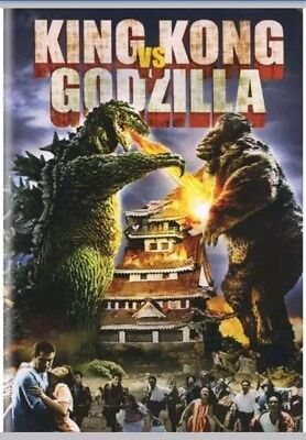 King Kong Vs. Godzilla (DVD, 2009) Michael Keith, Harry Holcombe, & James Yagi