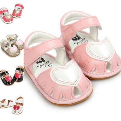 Cute Soft Bottom Non Slip Baby Princess Shoes Toddlers Girls Clogs Nonslip Shoe