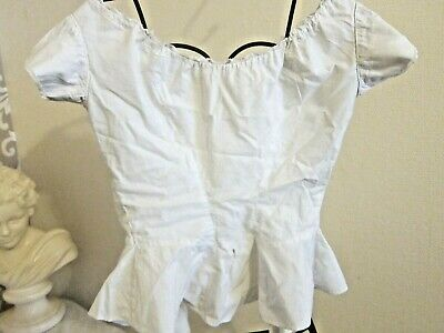 c.1899 Antique French Handstitched Blouse/Top
