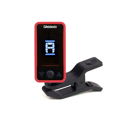 D'Addario Eclipse Headstock Tuner, Red (NEW)