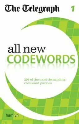 The Telegraph: All New Codewords 1 by The Telegraph 9780600624936 | Brand New