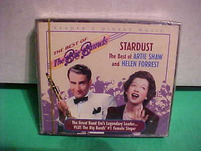 NEW FACTORY SEALED Stardust: The Best of Artie Shaw and Helen Forrest 2CD's 2001