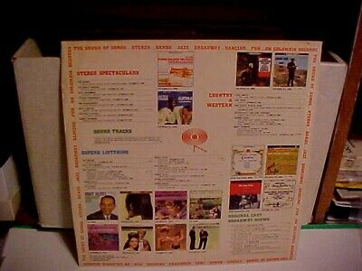 Original Vintage Columbia Records Album 12 Inch Inner Sleeve Only No Record