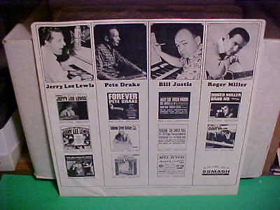 Original Vintage Smash Records Inner Sleeve Only No Record 12 Inch Country Rock