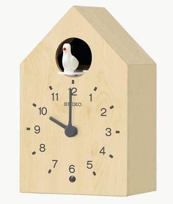 Seiko Wooden Cuckoo Clock QXH070A RRP £75.00 Our Price £67.50 Free UK P&P