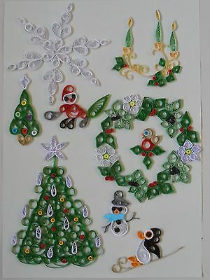 Quilling Kit - Designs for Christmas 2, by Past Times Quilling