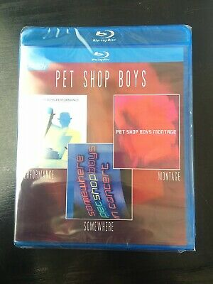 Pet Shop Boys (Performance / Somewhere / Montage) Blu-ray Disc New